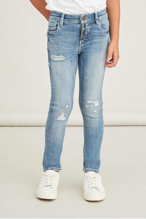 skinny jeans NKMPETE light denim