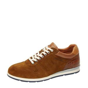 Davinci  suède sneakers cognac