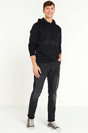 hoodie met printopdruk zwart
