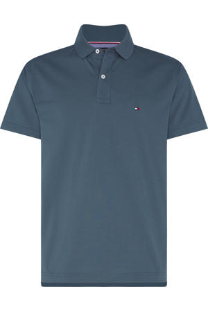 slim fit polo da4 charcoal blue
