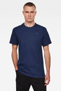 G-Star RAW T-shirt donkerblauw, Donkerblauw