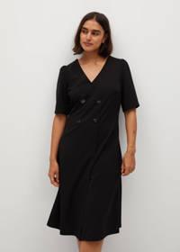Violeta by Mango jurk zwart, Zwart