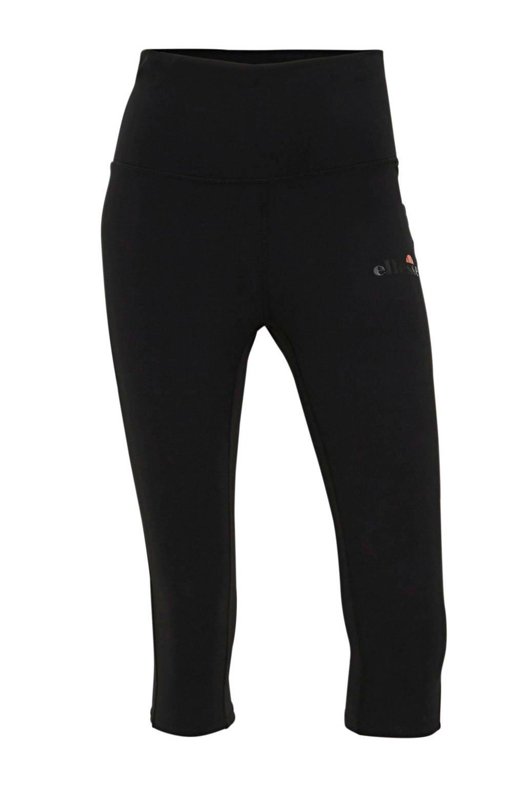 Ellesse broek Lupita met logo zwart, Zwart