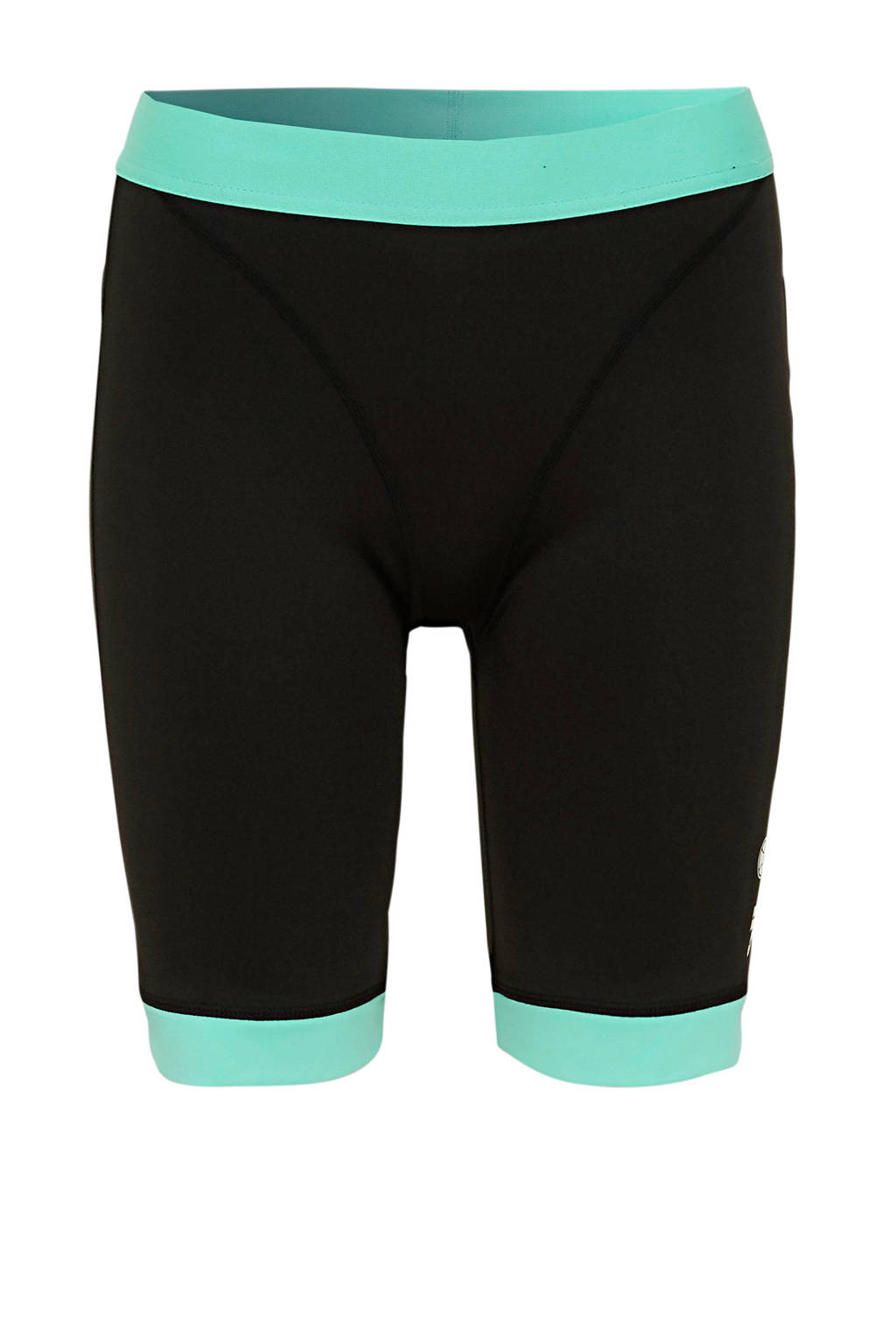 Ellesse cycling short zwart/aquablauw, Zwart/Aquablauw