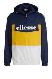 Ellesse jack blauw/geel/wit, Blauw/geel/wit