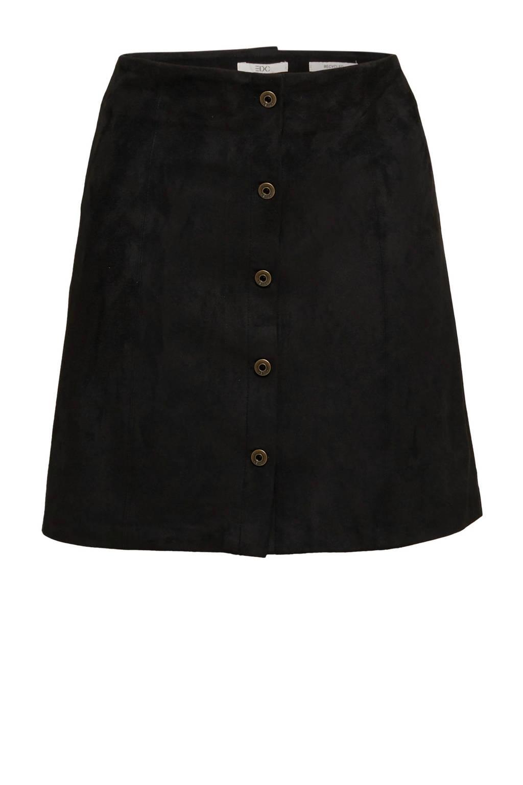 edc Women rok zwart, Zwart