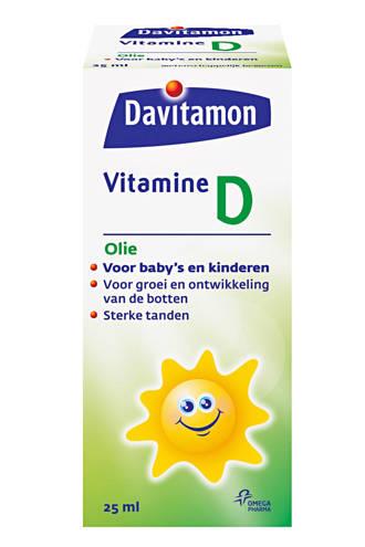 vitamine D olie 25 ml