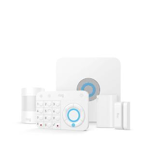 Alarm beveiligingsset 5-delige Starter Kit (wit)