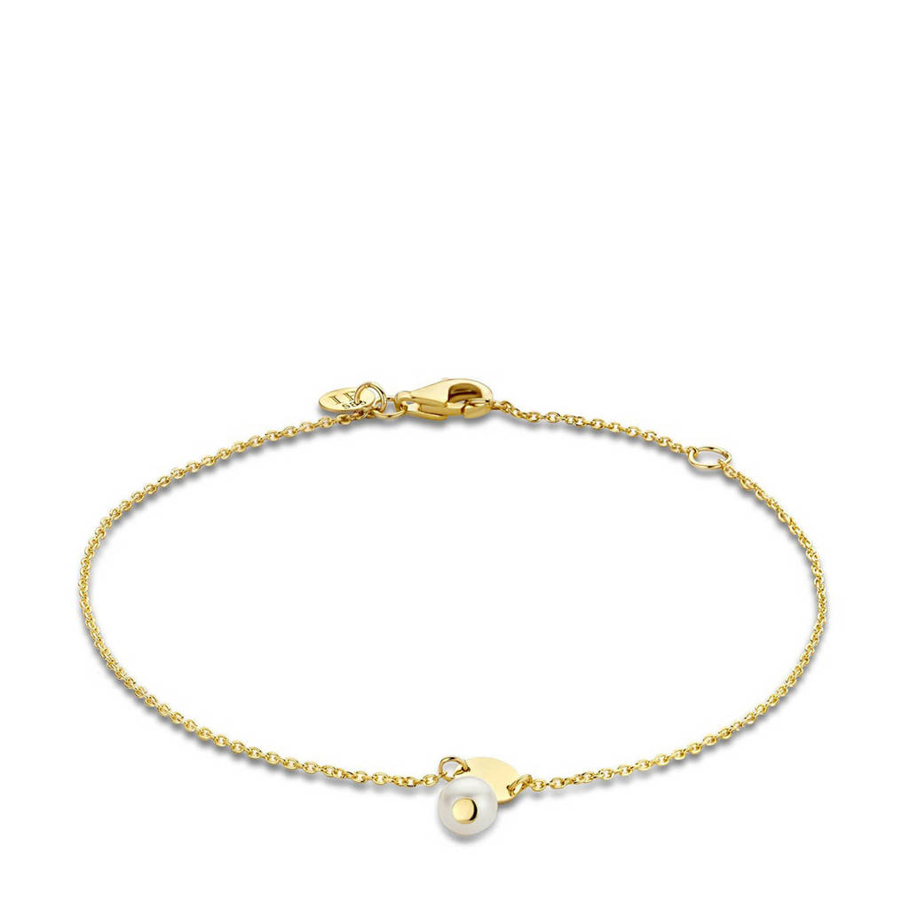 Isabel Bernard 14 karaat gouden gouden armband - IB320020, Goudkleurig