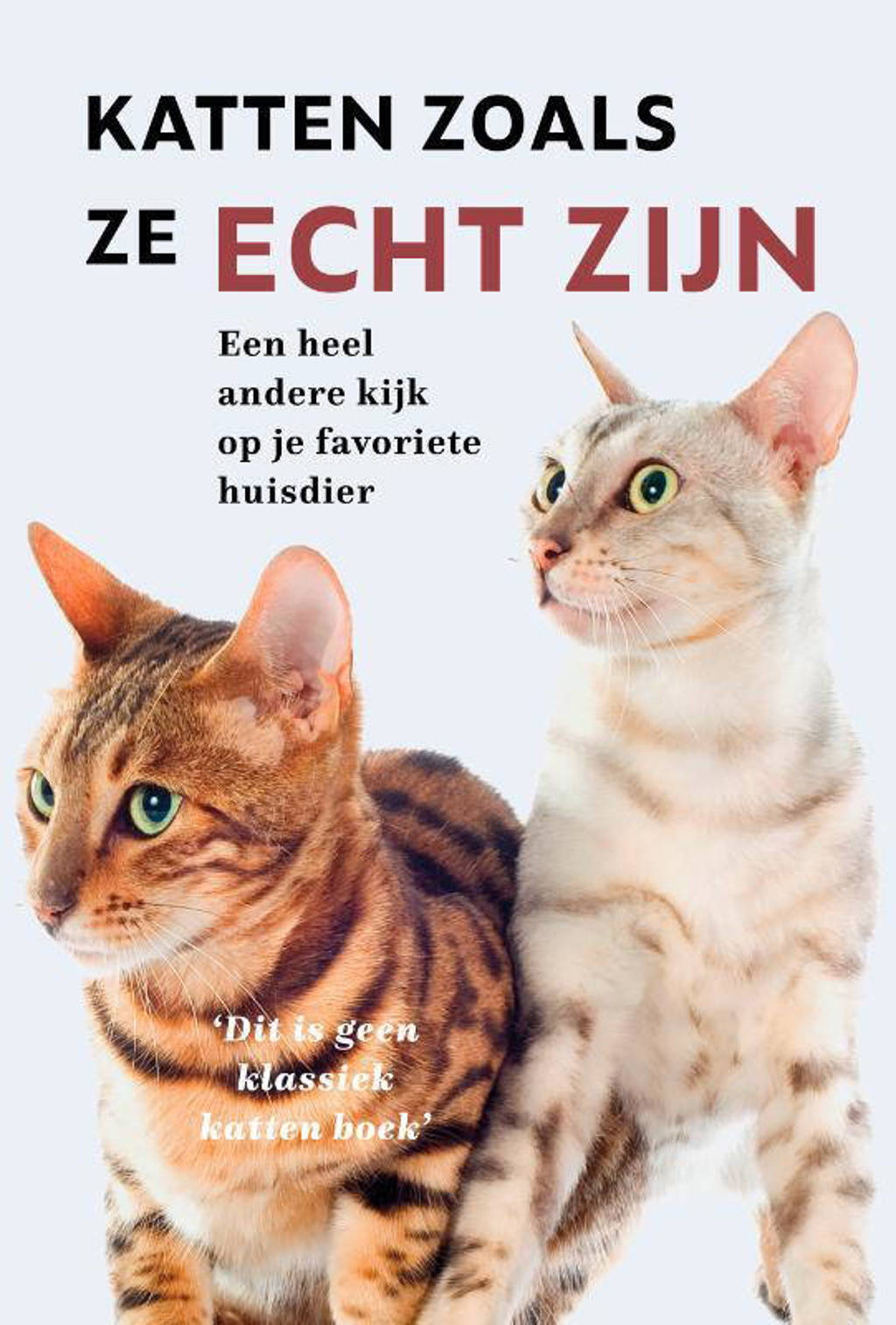Katten zoals ze echt zijn - Chris Dusauchoit