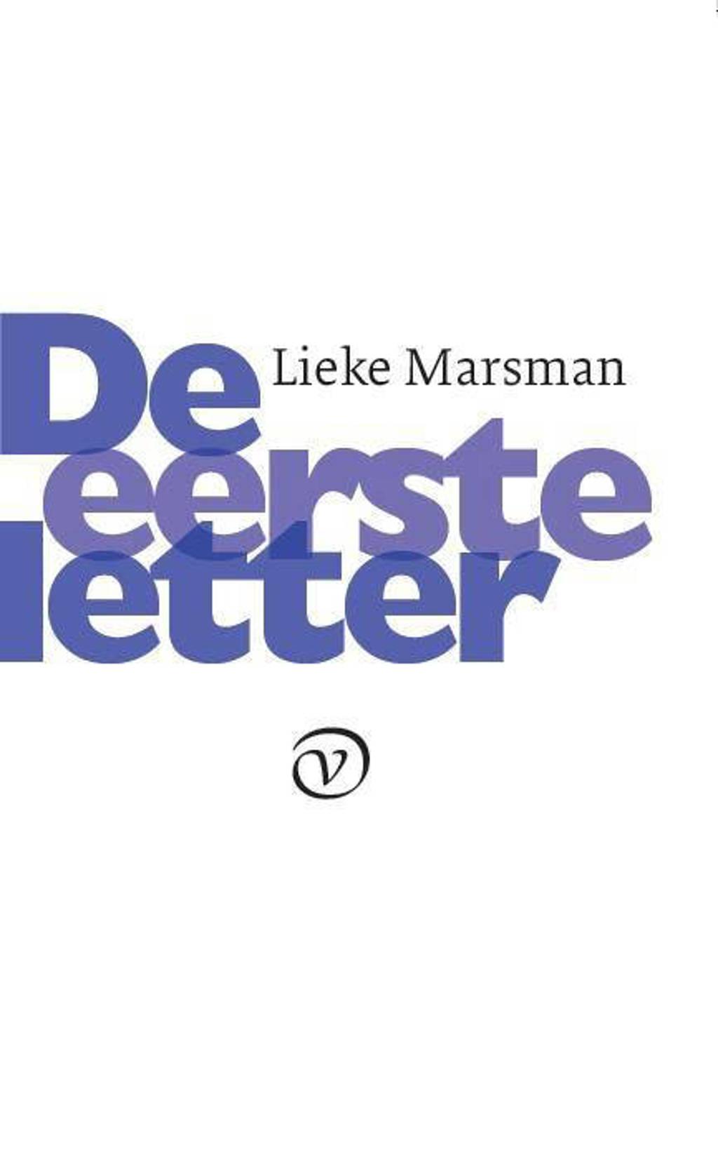 De eerste letter - Lieke Marsman