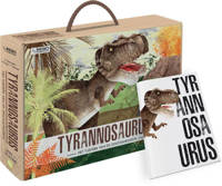 3D model: Tyrannosaurus - Boek en 3D model - I. Trevisan