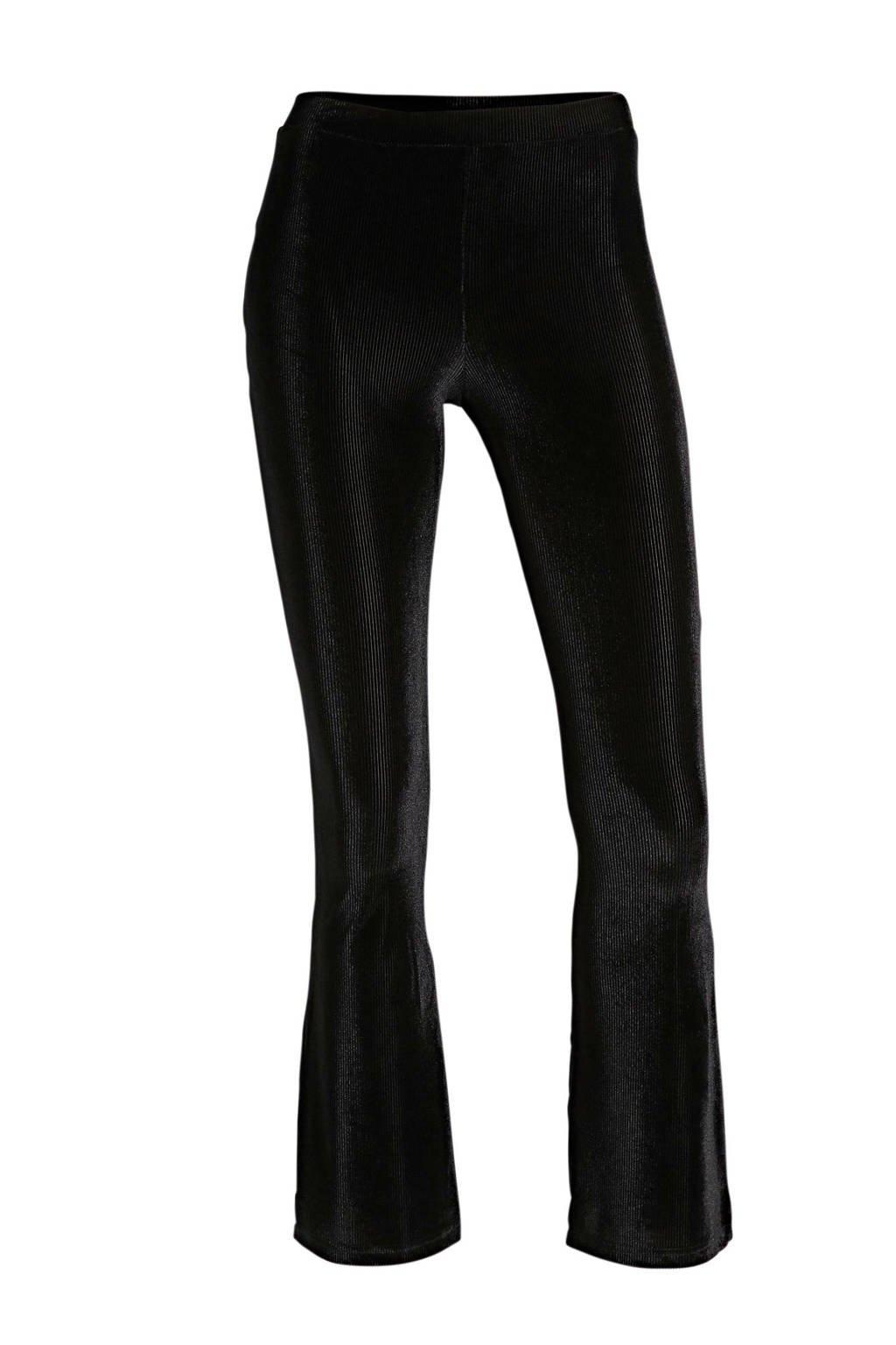 LMTD velours broek Sals zwart, Zwart