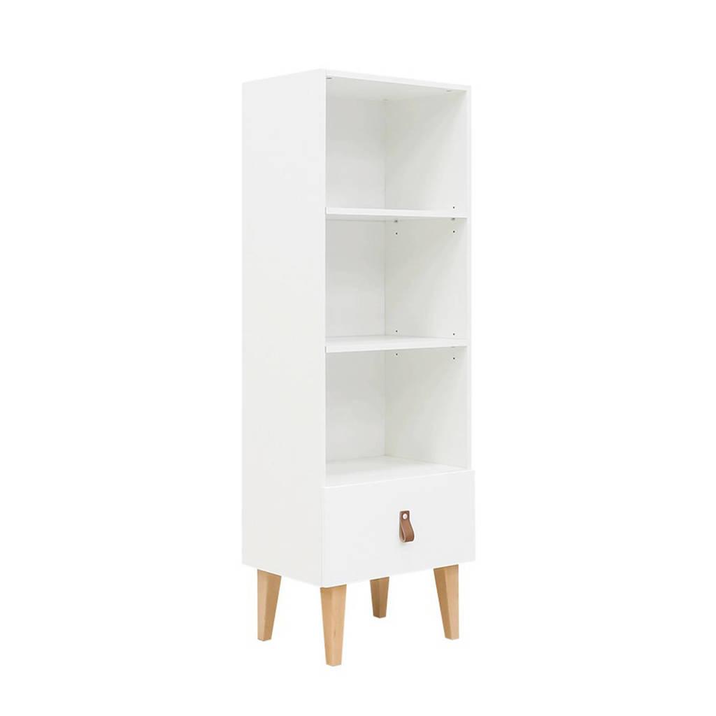 Bopita boekenkast Indy, Wit/naturel