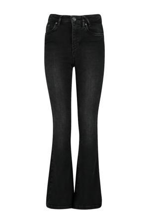 flared jeans washed black