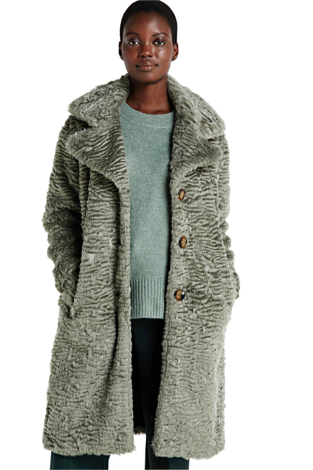 OBJECT coat grijs, Grijs