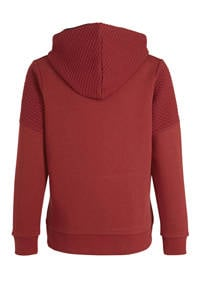 JACK & JONES JUNIOR hoodie Button rood, Rood
