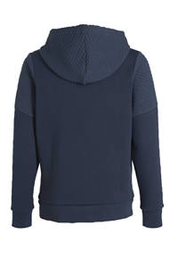 JACK & JONES JUNIOR hoodie Button donkerblauw, Donkerblauw