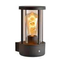 Lucide wandlamp buiten Lori (Ø12 cm), Antraciet