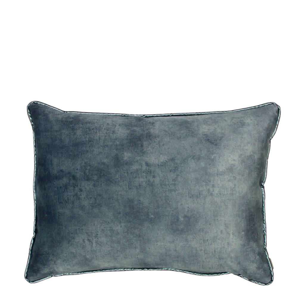 Raaf sierkussenhoes Dion  (50x70 cm), Blauw