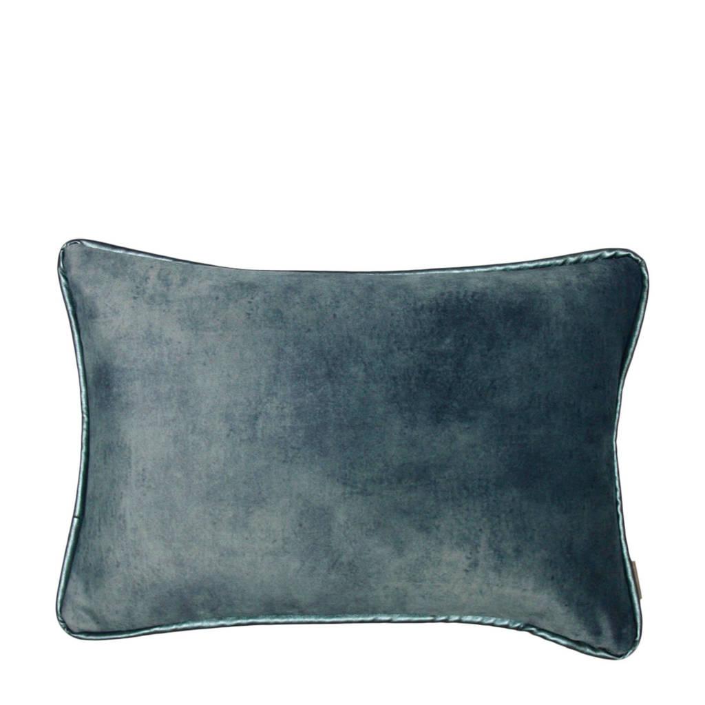 Raaf sierkussenhoes Dion  (35x50 cm), Blauw