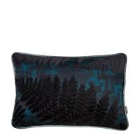 Raaf sierkussenhoes Varen  (35x50 cm), Blauw/zwart