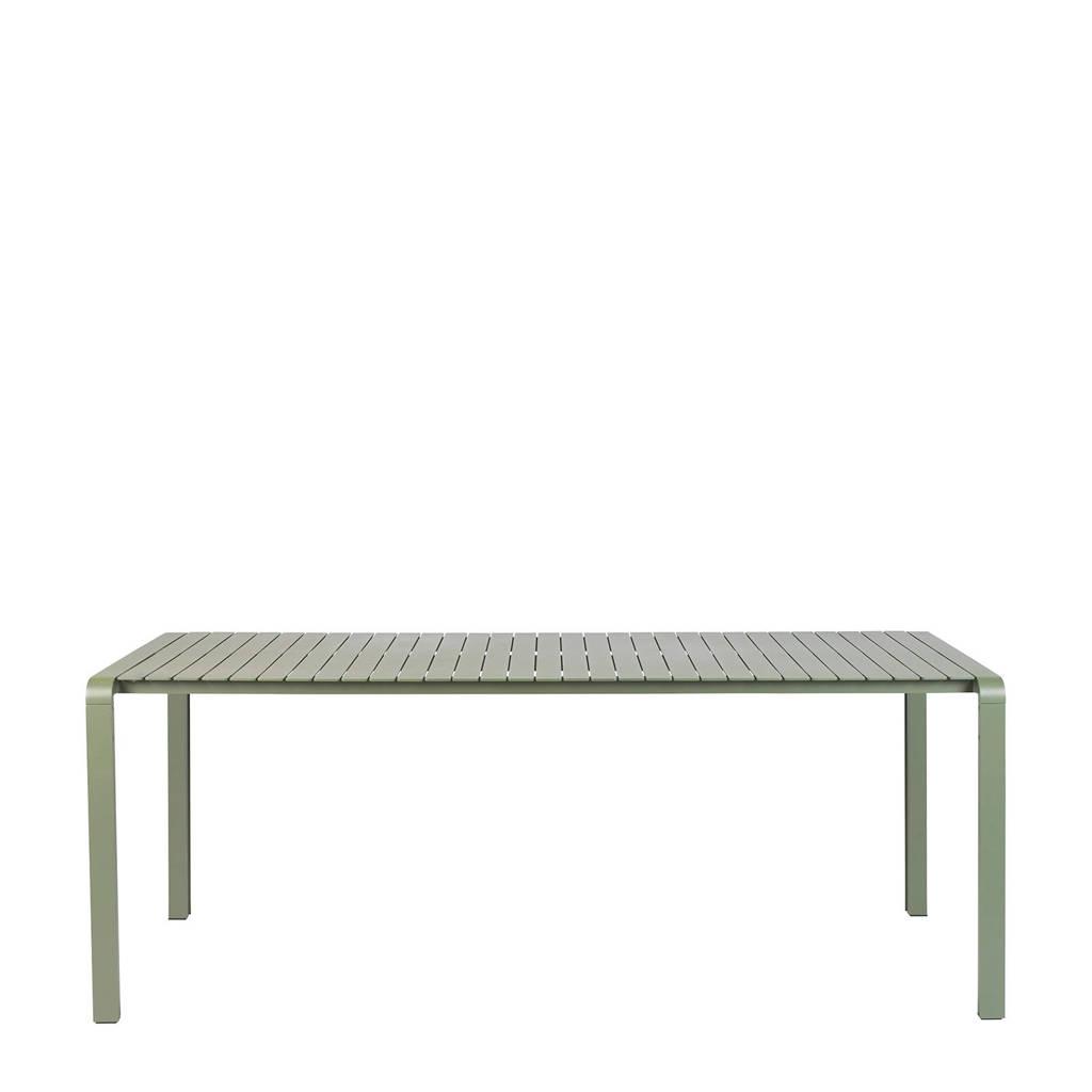 Zuiver tuintafel Vondel (96,7x214 cm), Groen