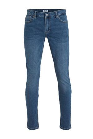 slim fit jeans Loom donkerblauw