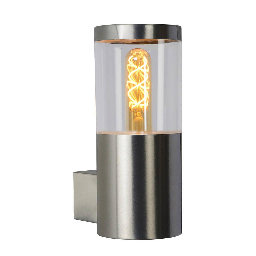 Lucide wandlamp buiten Fedor, Mat chroom