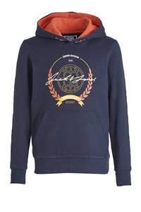 JACK & JONES JUNIOR hoodie Dorm met logo donkerblauw, Donkerblauw