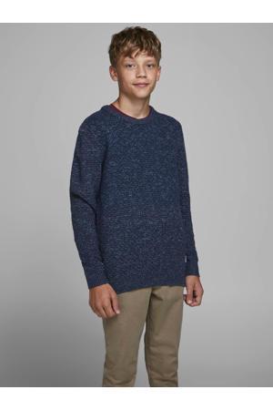 gemêleerde trui Brandon donkerblauw