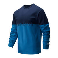 New Balance sweater donkerblauw/petrol