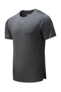 New Balance   hardloopshirt grijs/antraciet, Grijs/antraciet