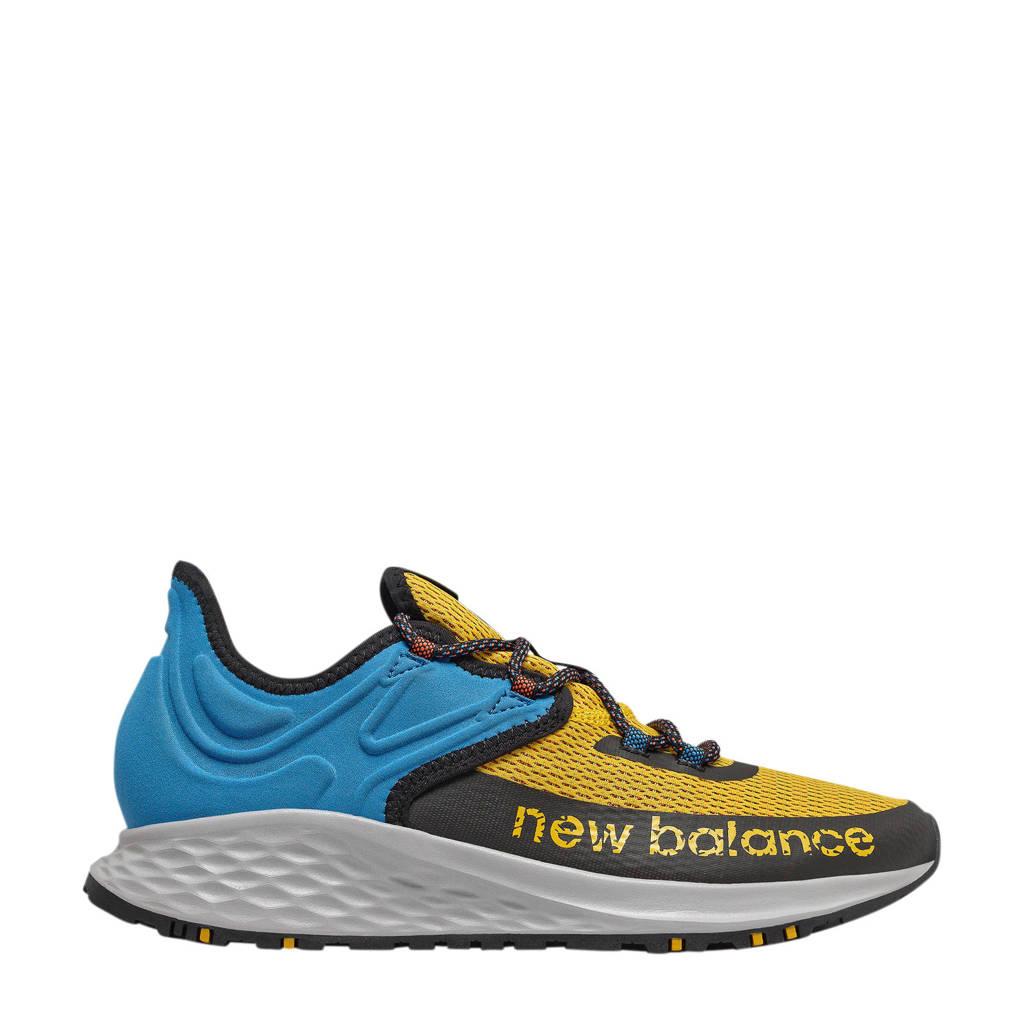 New Balance Fresh Foam Roav Trail hardloopschoenen geel/blauw/zwart, geel/kobaltblauw/zwart