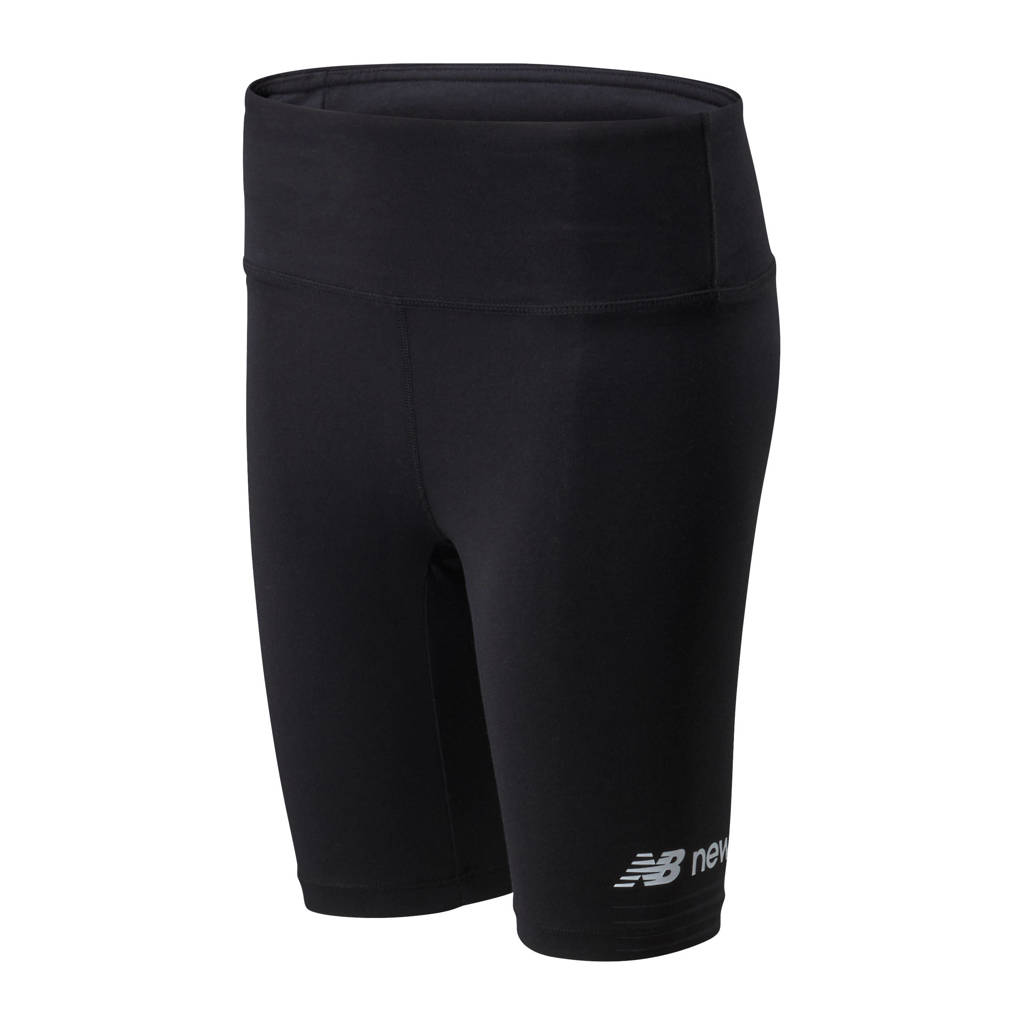 New Balance cycling short zwart, Zwart