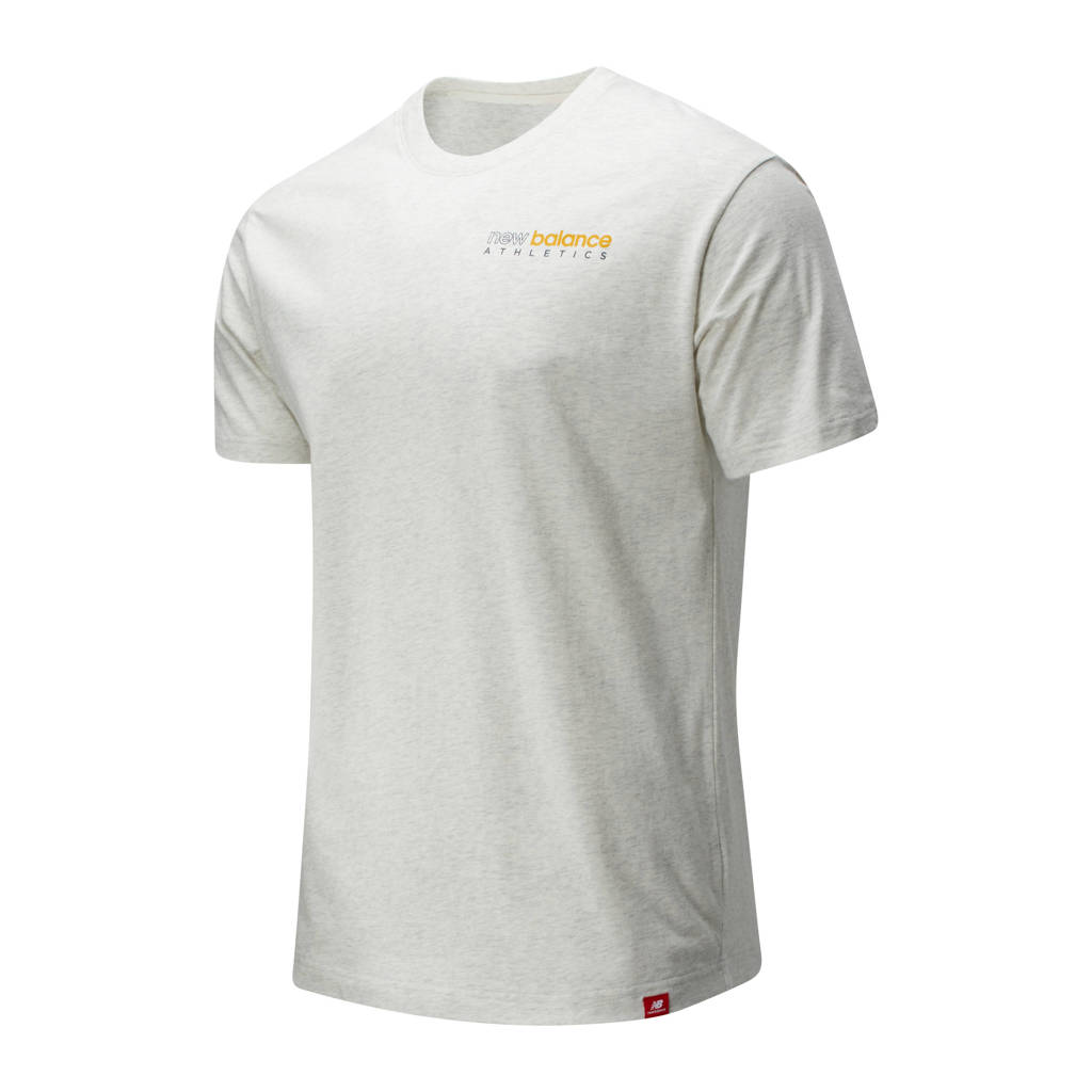 New Balance T-shirt lichtroze, Lichtroze