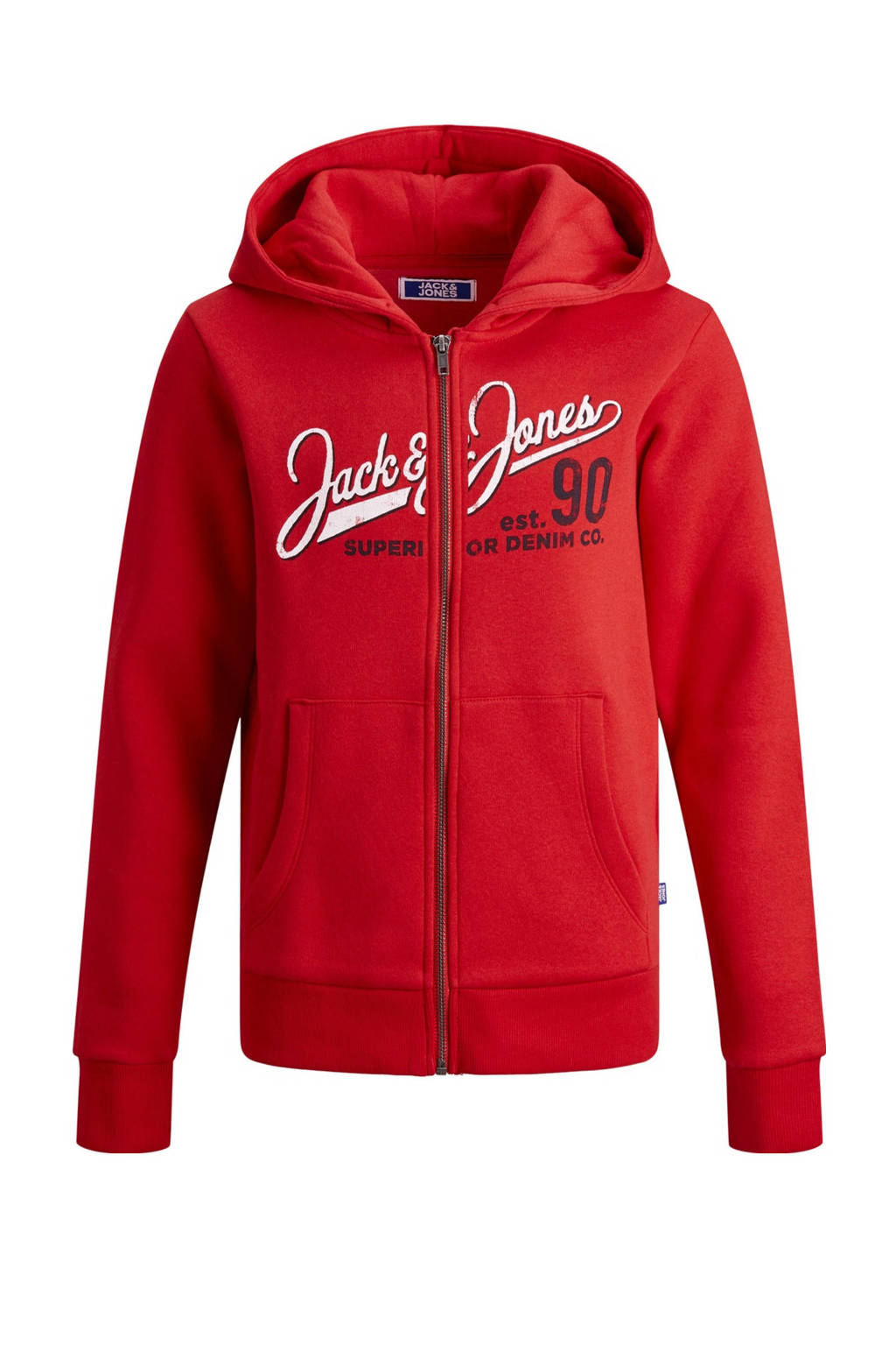 JACK & JONES JUNIOR vest met logo rood, Rood