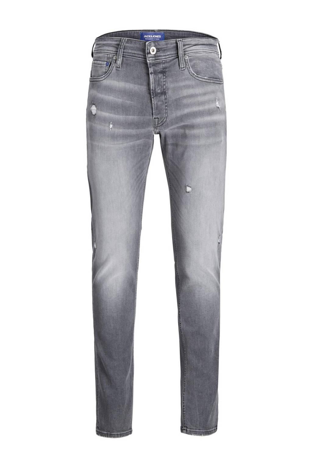 JACK & JONES JEANS INTELLIGENCE slim fit jeans grey denim, Grey denim