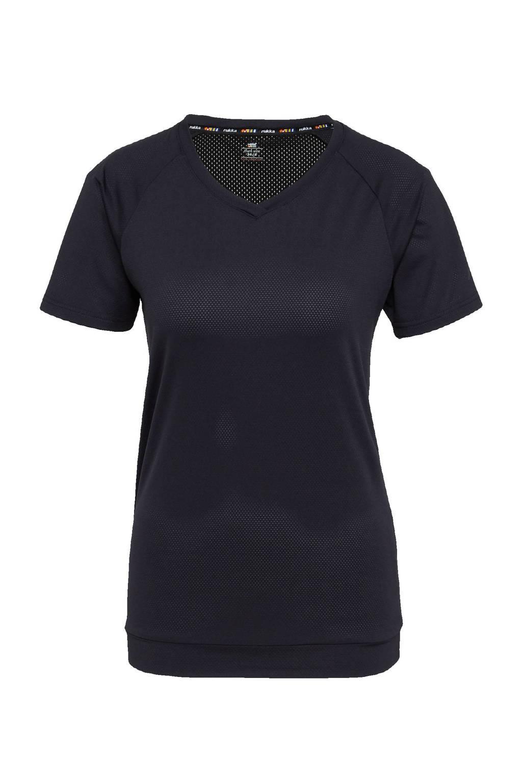 Rukka sport T-shirt antraciet, Antraciet