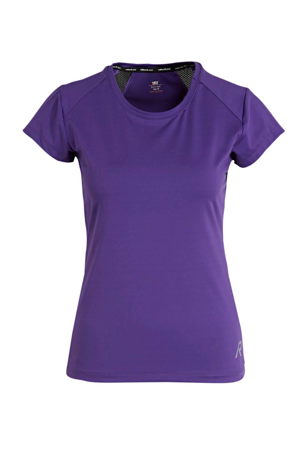 Rukka sport T-shirt Mattaa paars, Paars