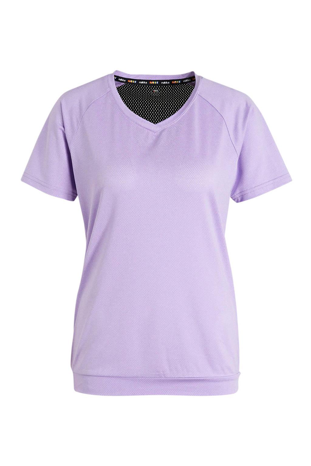 Rukka sport T-shirt paars, Paars