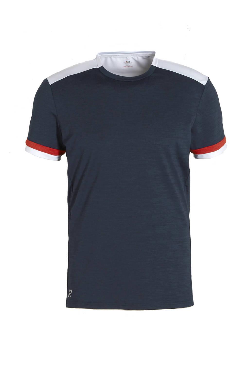 Rukka   sport T-shirt Ylaniemi donkerblauw, Donkerblauw