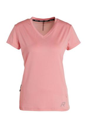 sport T-shirt Maanovilja roze
