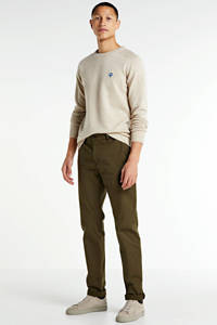 Scotch & Soda Stuart regular fit chino camel, Camel