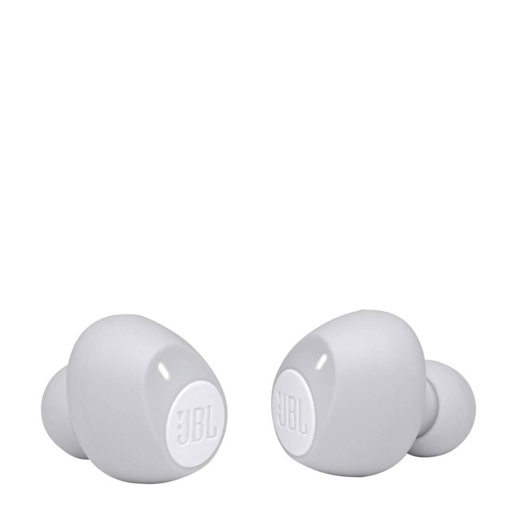 JBL Tune 115 TWS draadloze in-ear hoofdtelefoon (wit), Wit