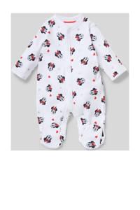 Disney Baby @ C&A Minnie Mouse boxpak van biologisch katoen wit/rood/zwart, Wit/rood/zwart