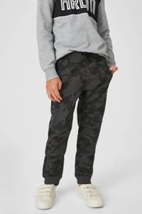 C&A broek met zijstreep antraciet, Antraciet