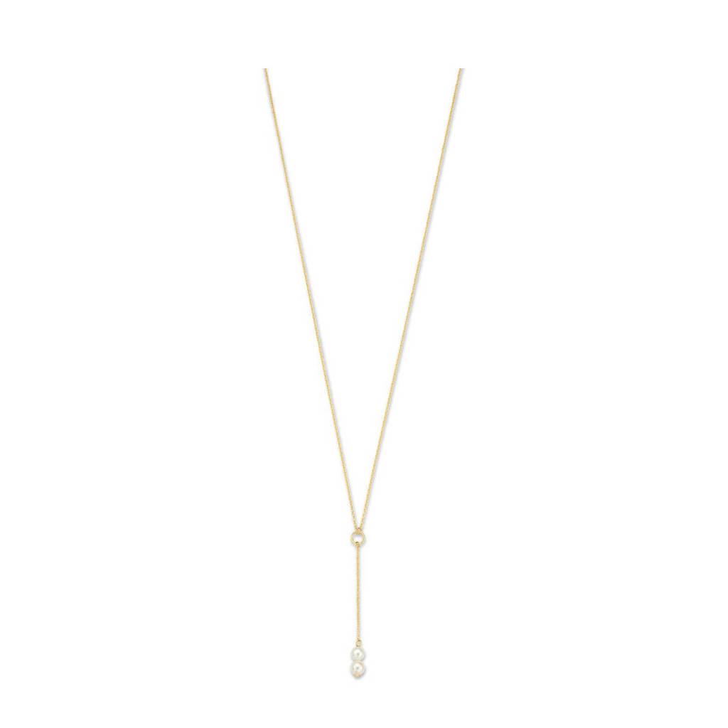 Isabel Bernard 14 karaat gouden gouden ketting - IB340024, Goudkleurig