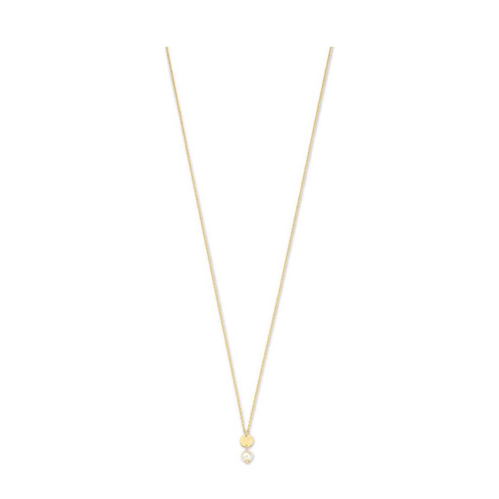 Isabel Bernard 14 karaat gouden gouden ketting - IB340025, Goudkleurig