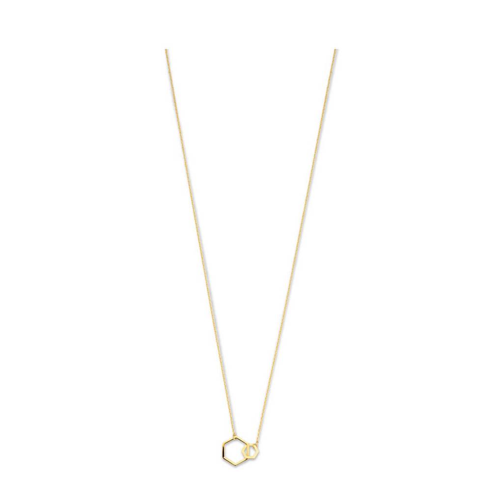 Isabel Bernard 14 karaat gouden gouden ketting - IB340030, Goudkleurig
